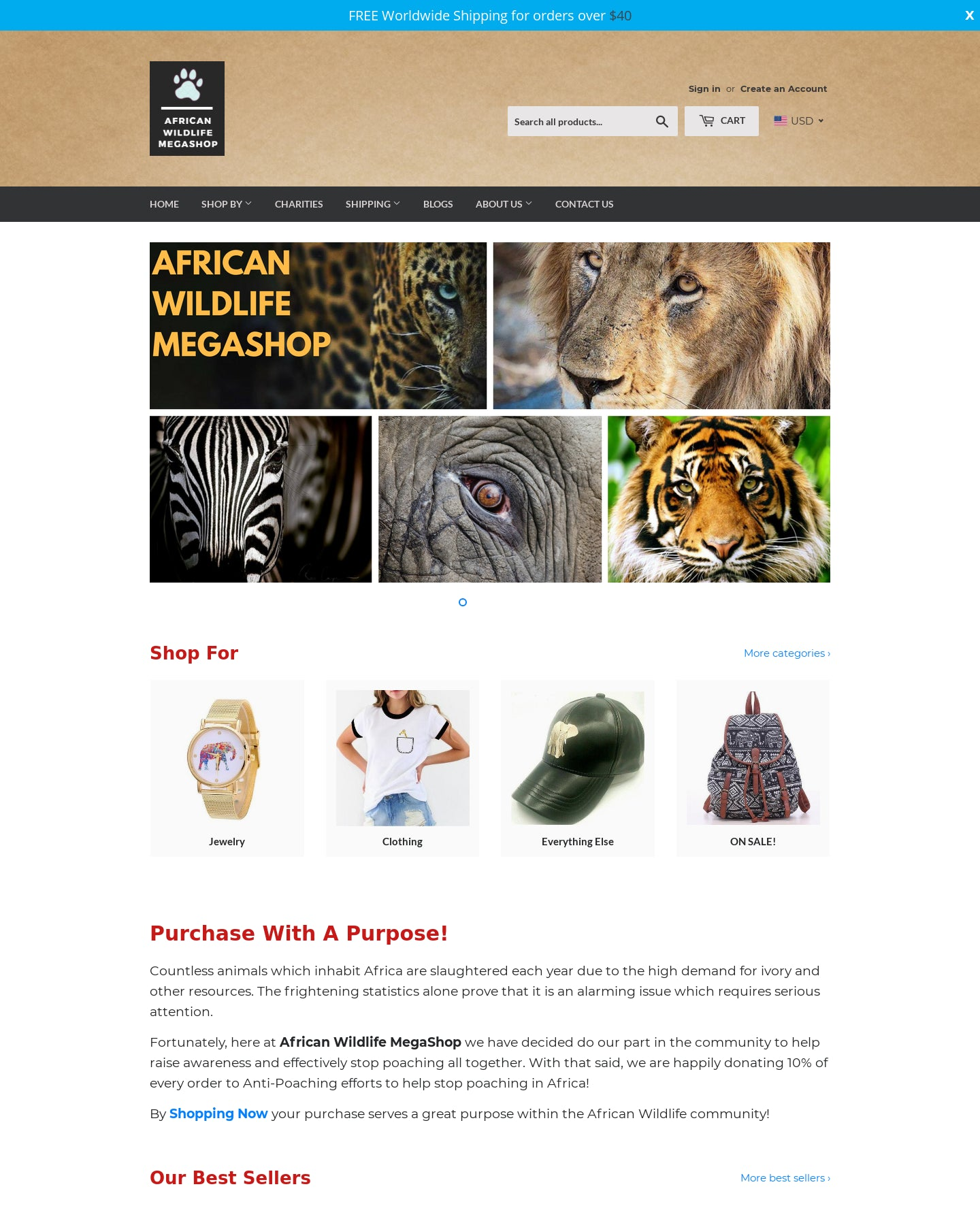 African Wildlife MegaShop Screenshot - 1