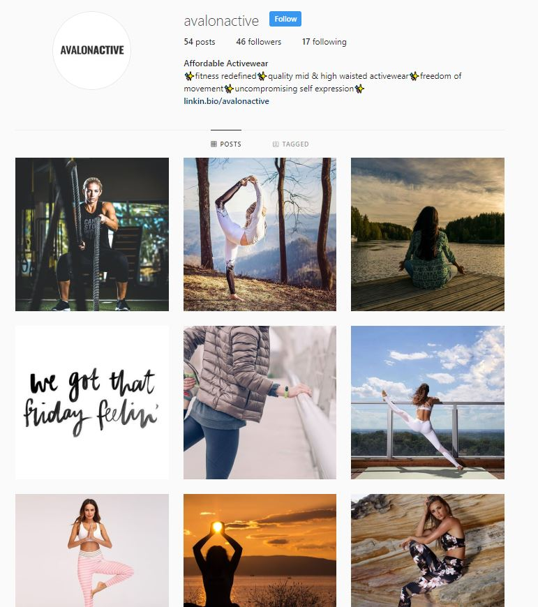 Avalon Activewear | Sold Store | Sports and recreation Business
