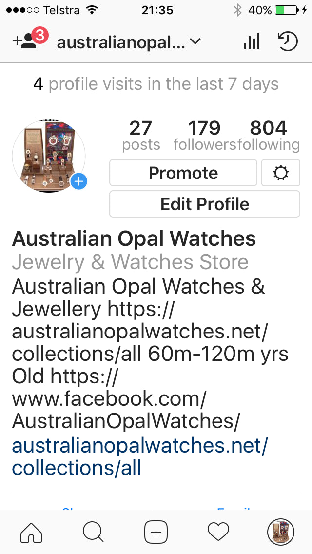 Australian Opal Watches & Jewellery Screenshot - 5