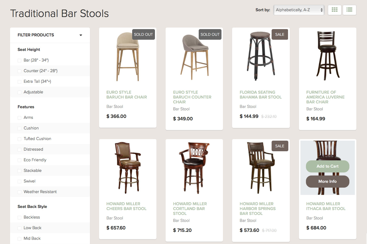 Barstool Boutique Screenshot - 2