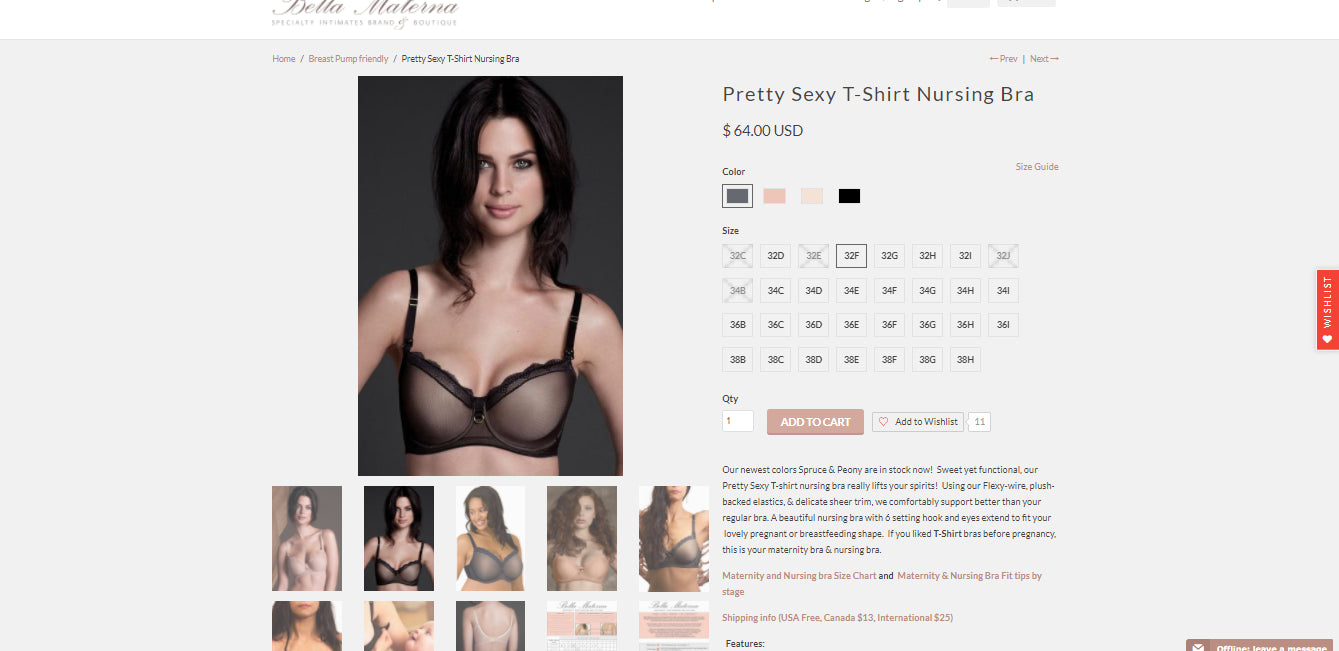 Bella Materna - Specialty Intimates Brand since 2000 Screenshot - 4