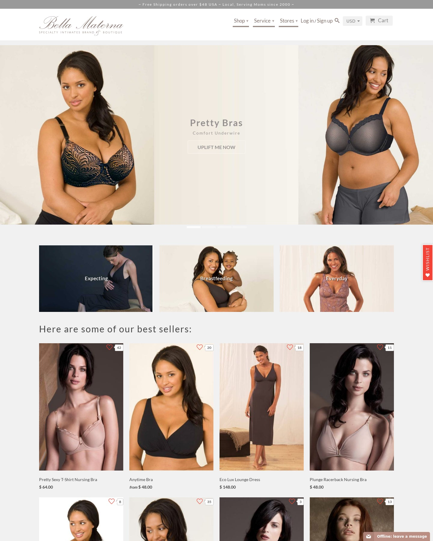 Bella Materna - Specialty Intimates Brand since 2000 Screenshot - 5