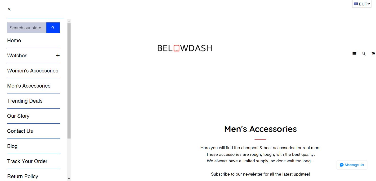BelowDash Screenshot - 4