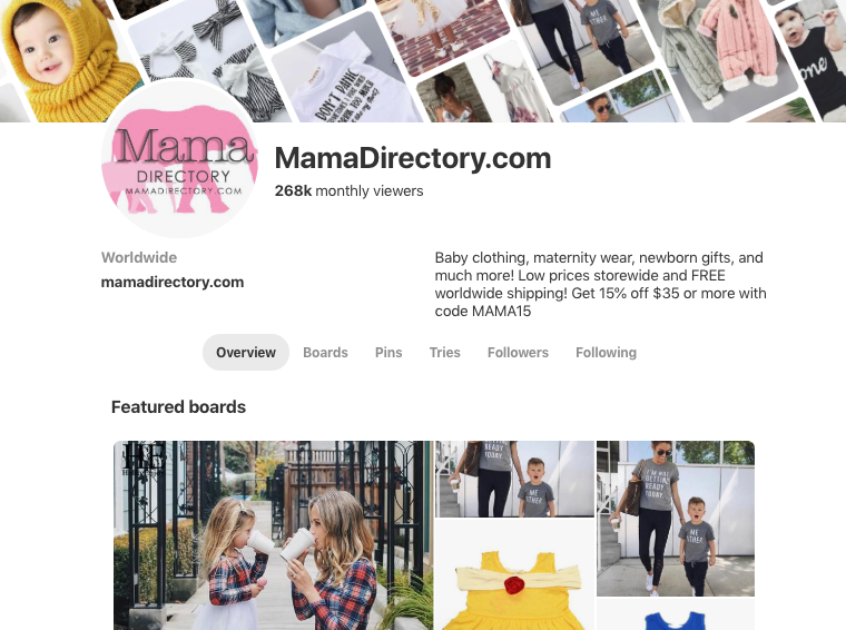 Mama Directory | Sold Store | Fashion and apparel Business