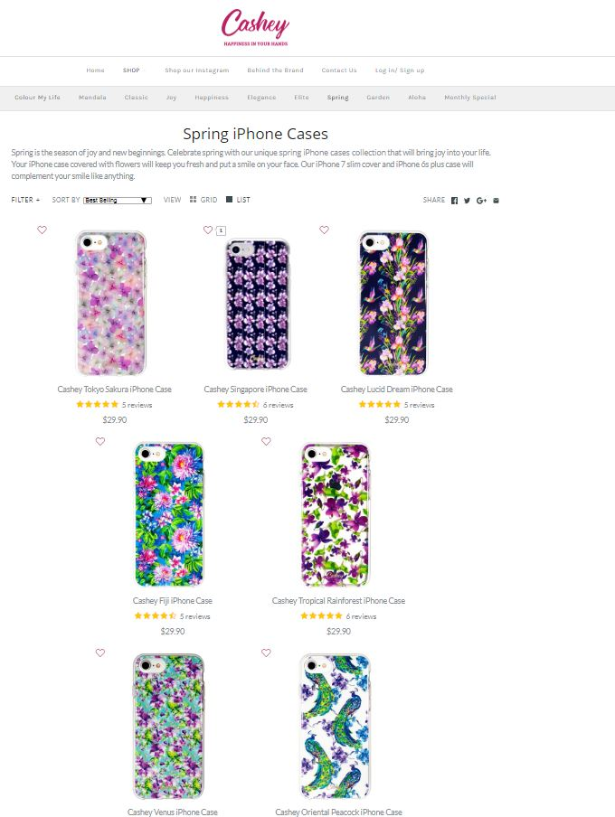 Cashey Happiness -  Premium phone case Screenshot - 4
