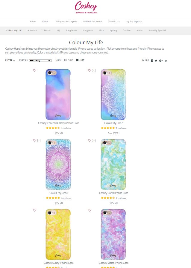 Cashey Happiness -  Premium phone case Screenshot - 3
