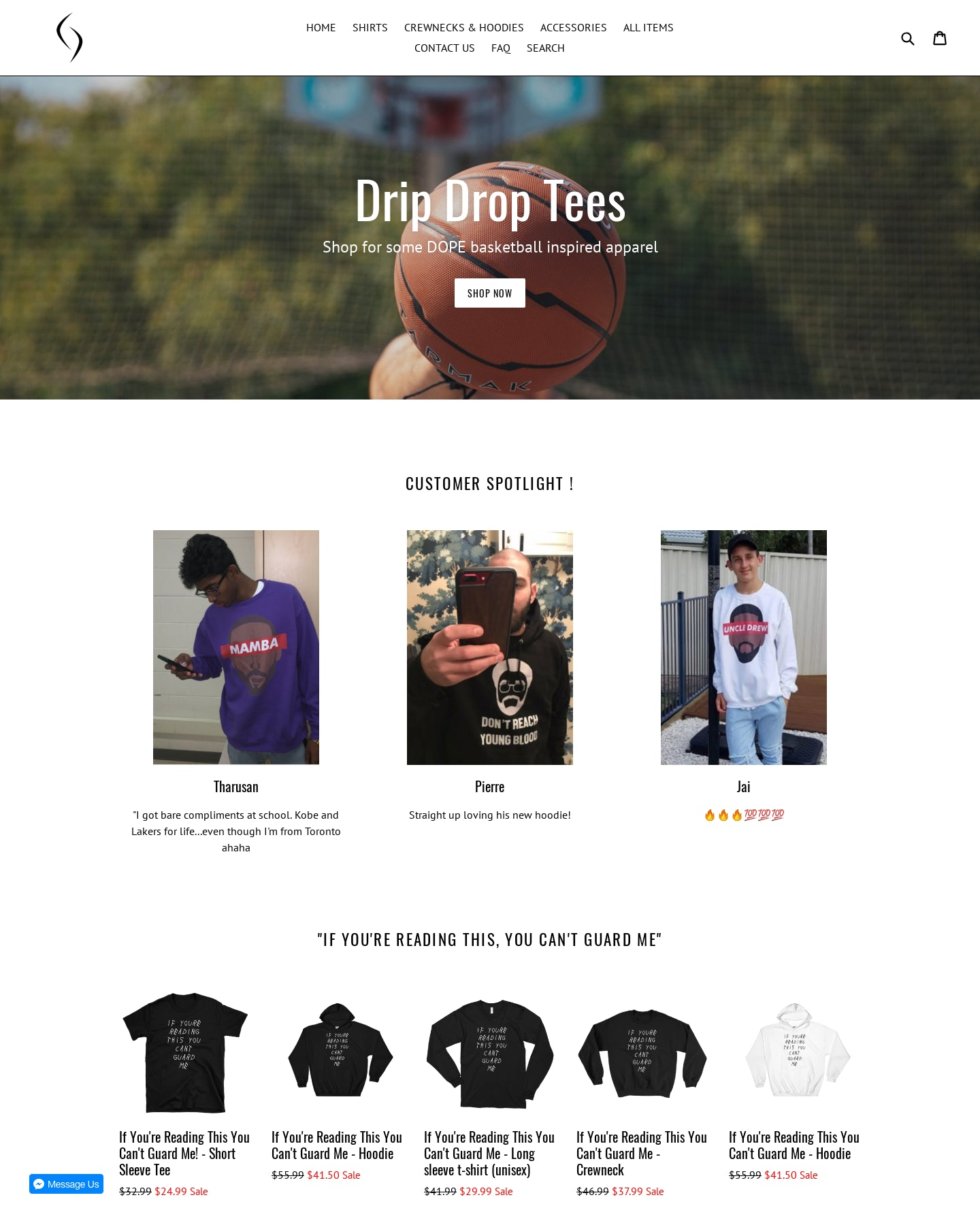 DripDropTees Screenshot - 1