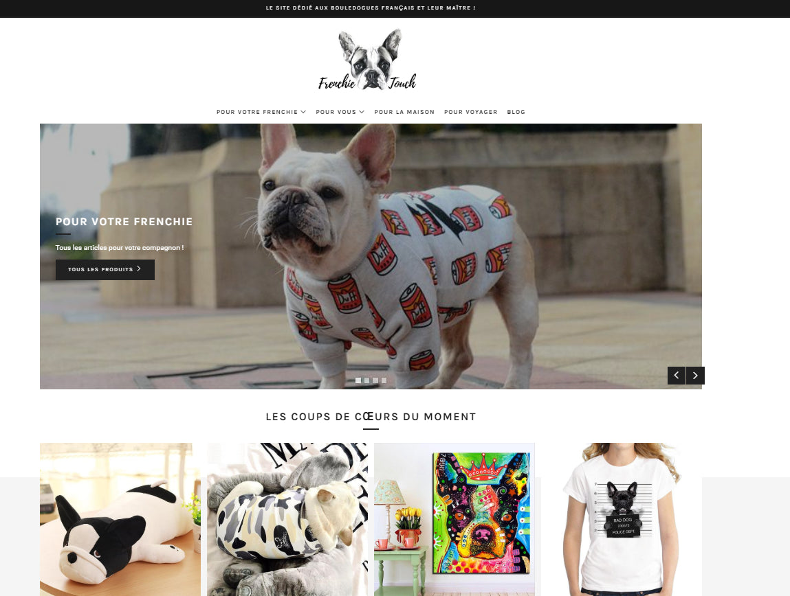 Frenchie Touch Screenshot - 3