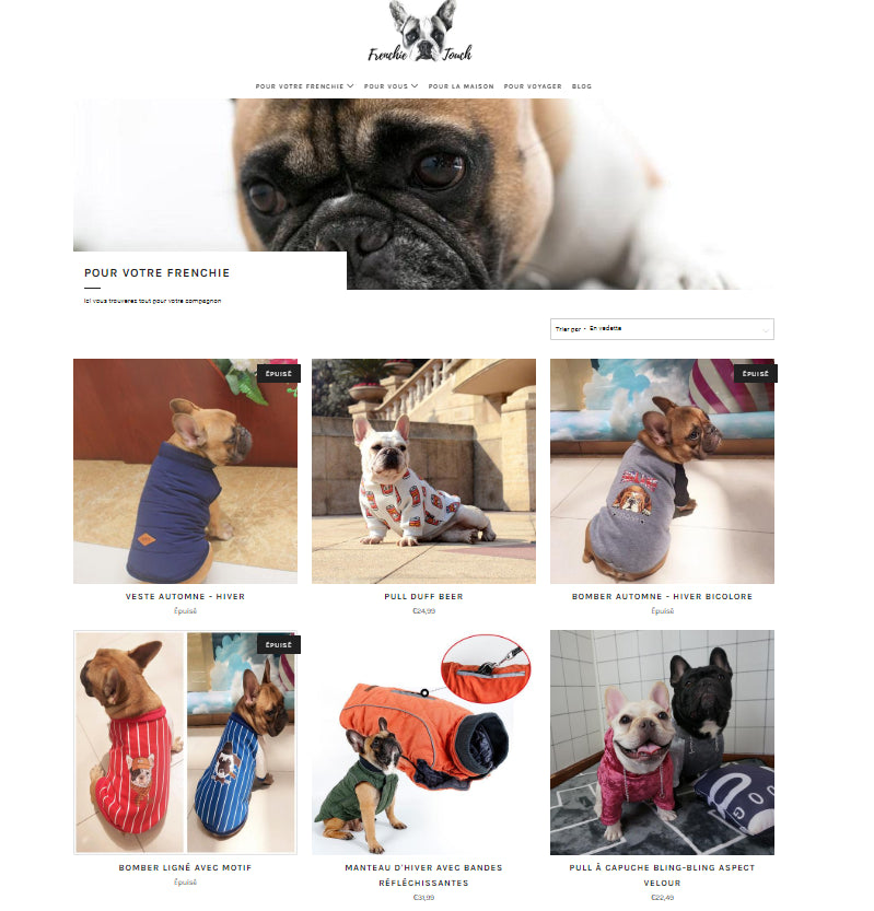 Frenchie Touch Screenshot - 5