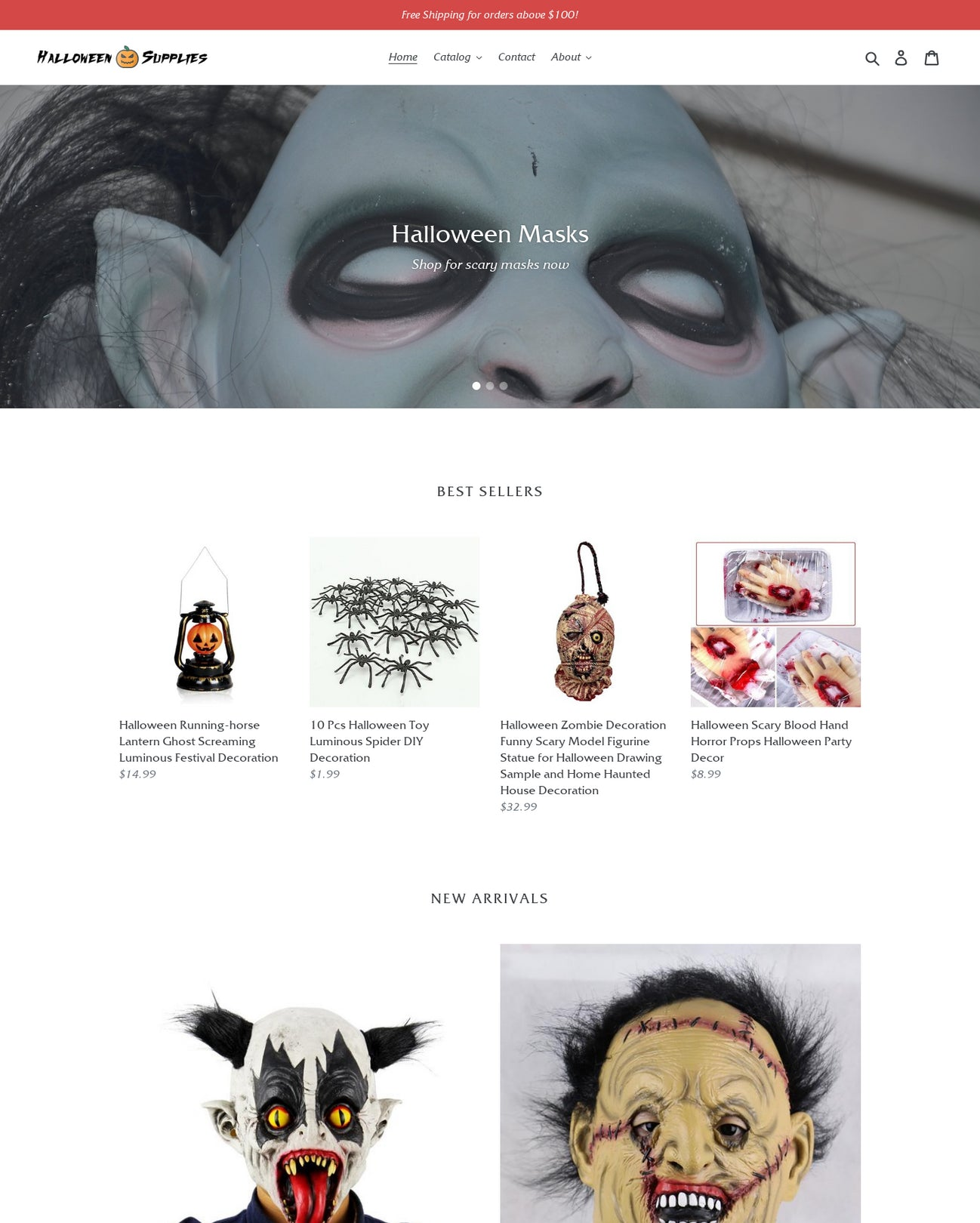 Halloween Store Online | Halloween Store Shop For Sale Buy An Online Business