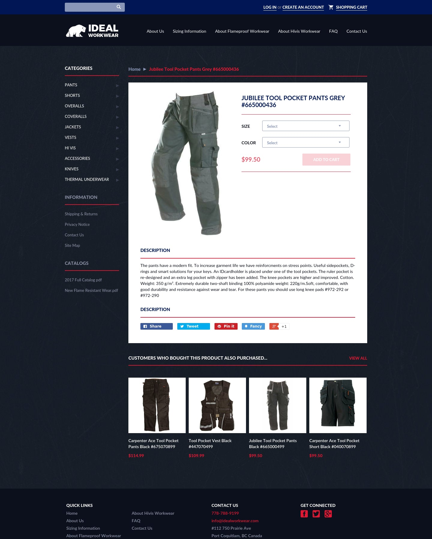 Ideal Workwear Inc. Screenshot - 1