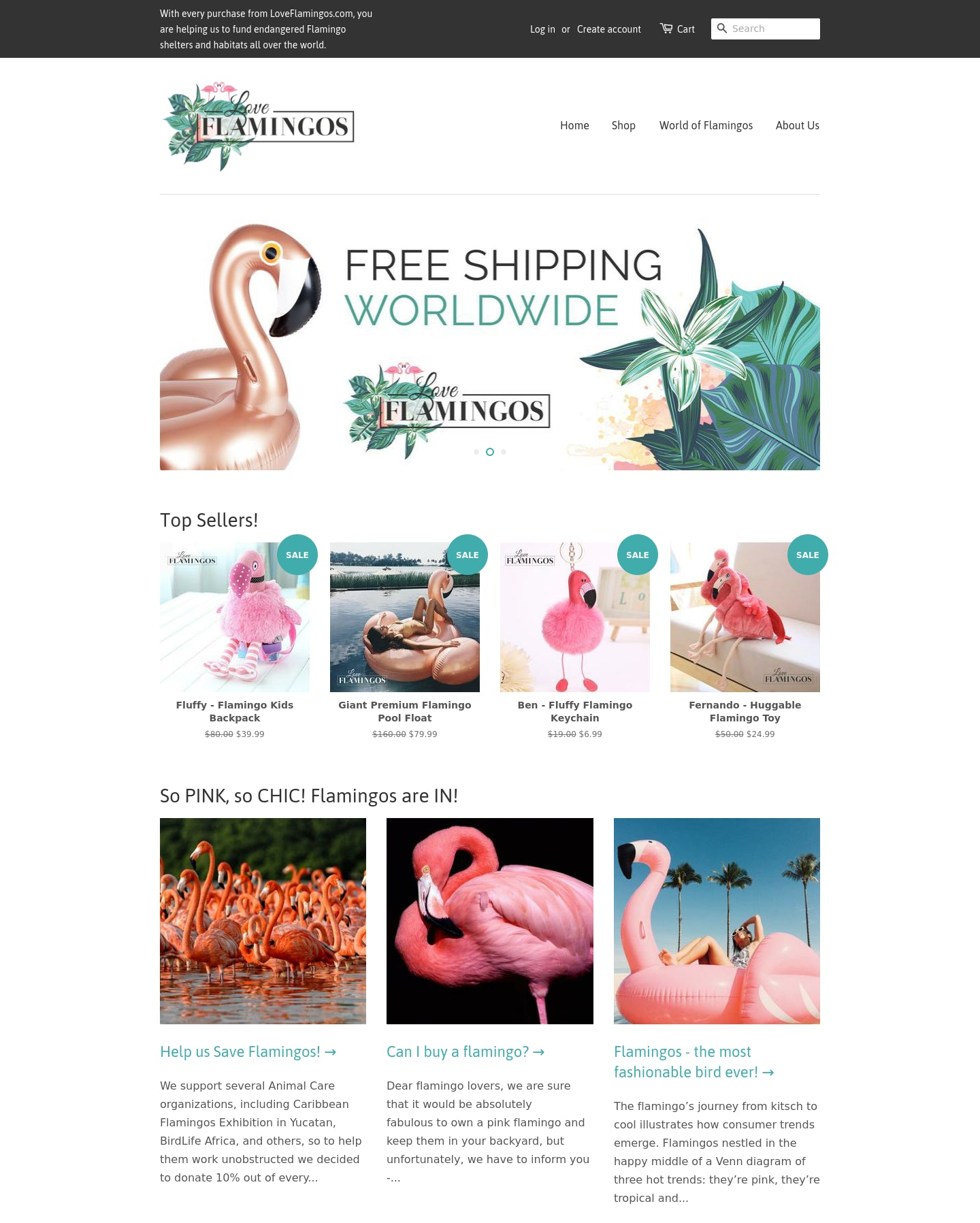 Love Flamingos Screenshot - 1