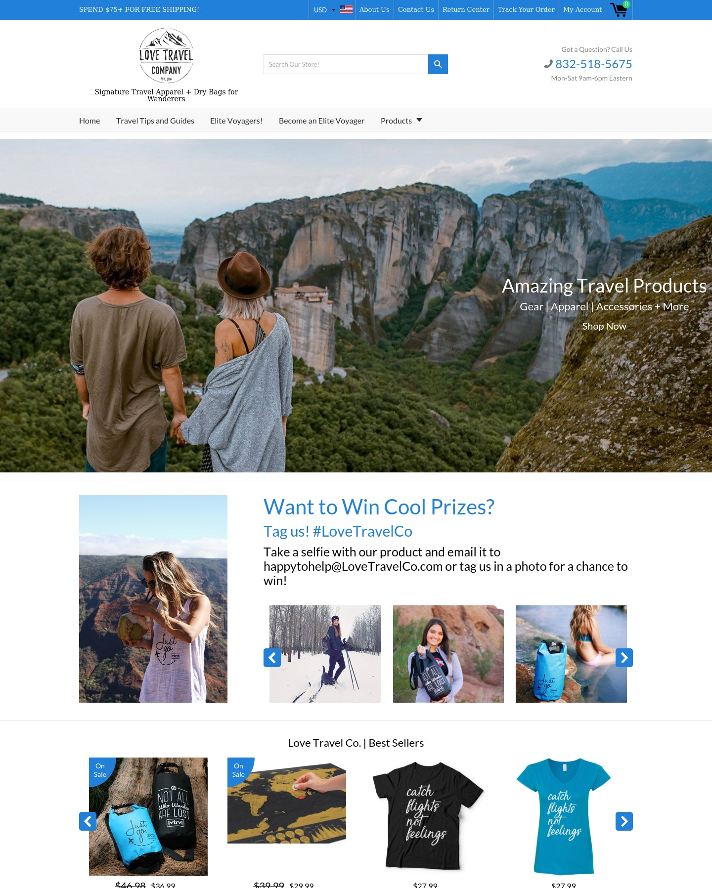 Love Travel Co   Signature Travel Apparel + Dry Bags for Wanderers Screenshot - 1