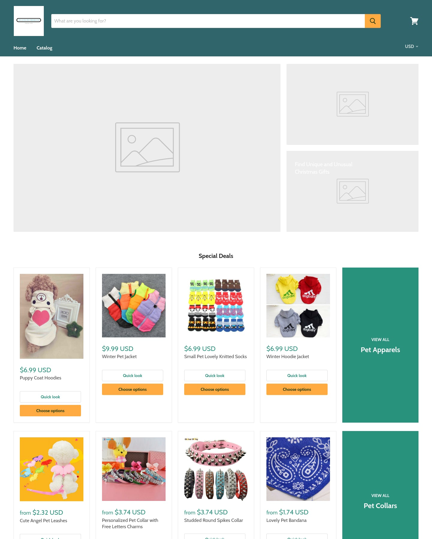 mycutepetproducts.com Screenshot - 1