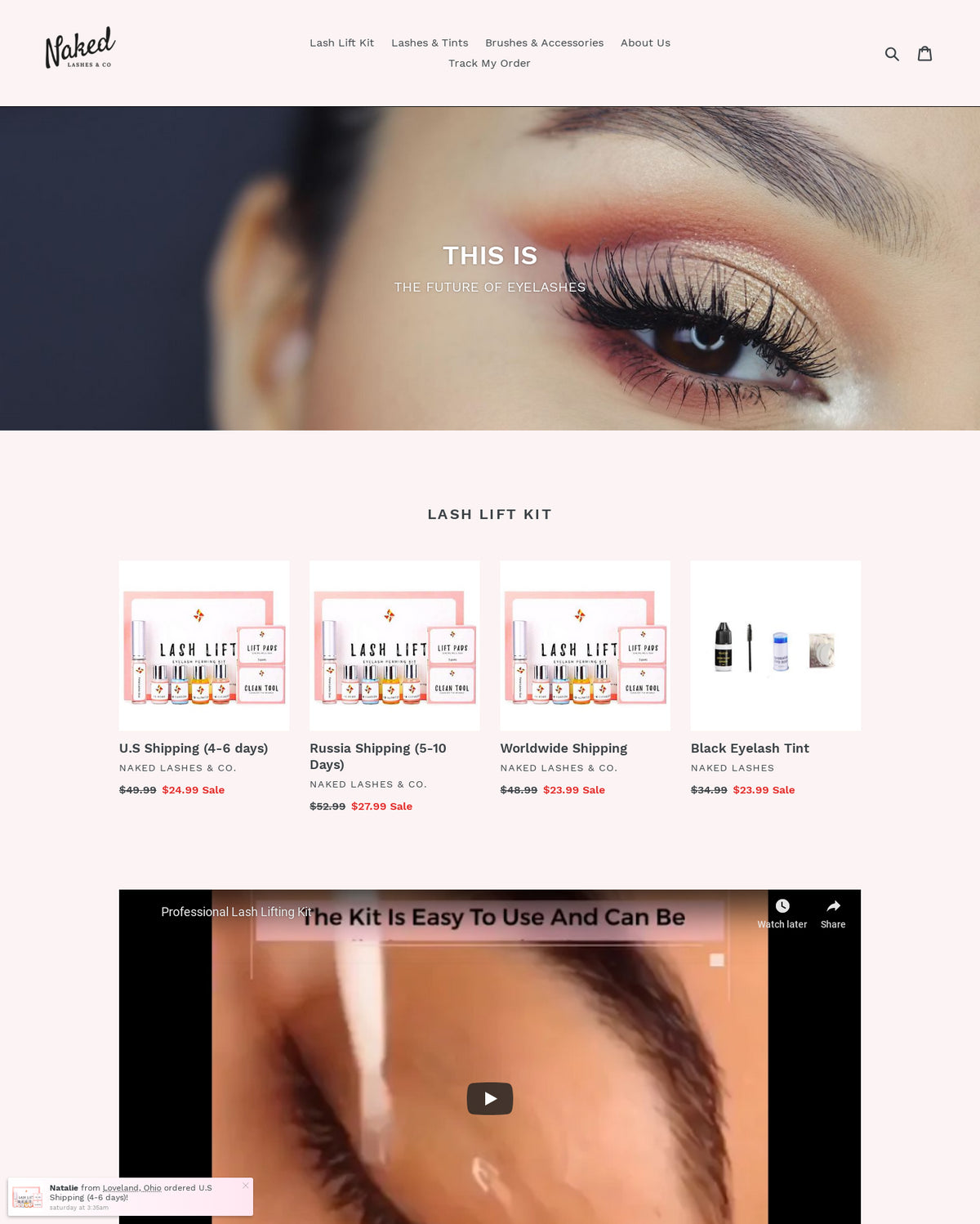 Naked Lashes & Co  | Sold Store | Health and beauty Business