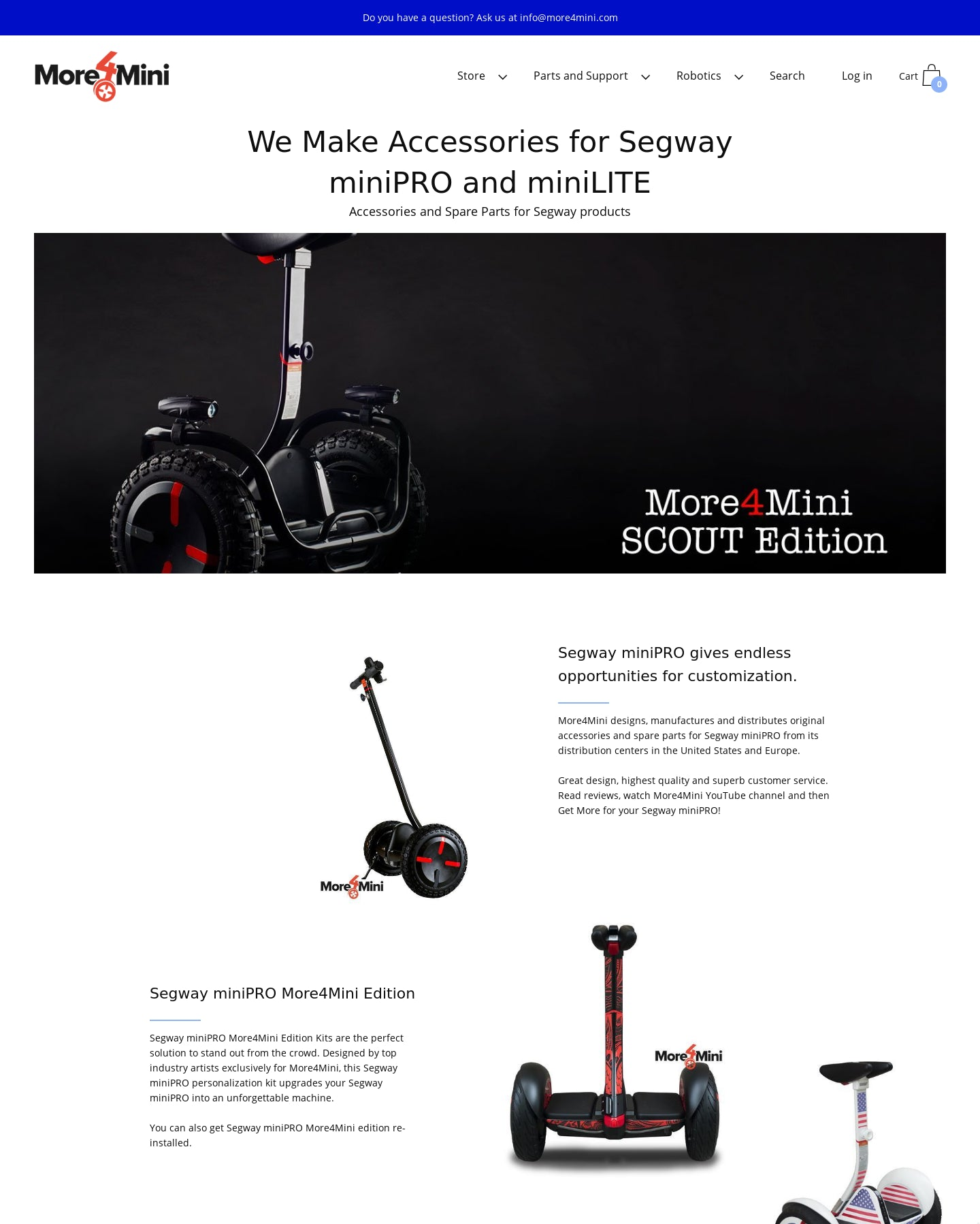 M4M Accessories and Parts for Electric Scooters Screenshot - 6
