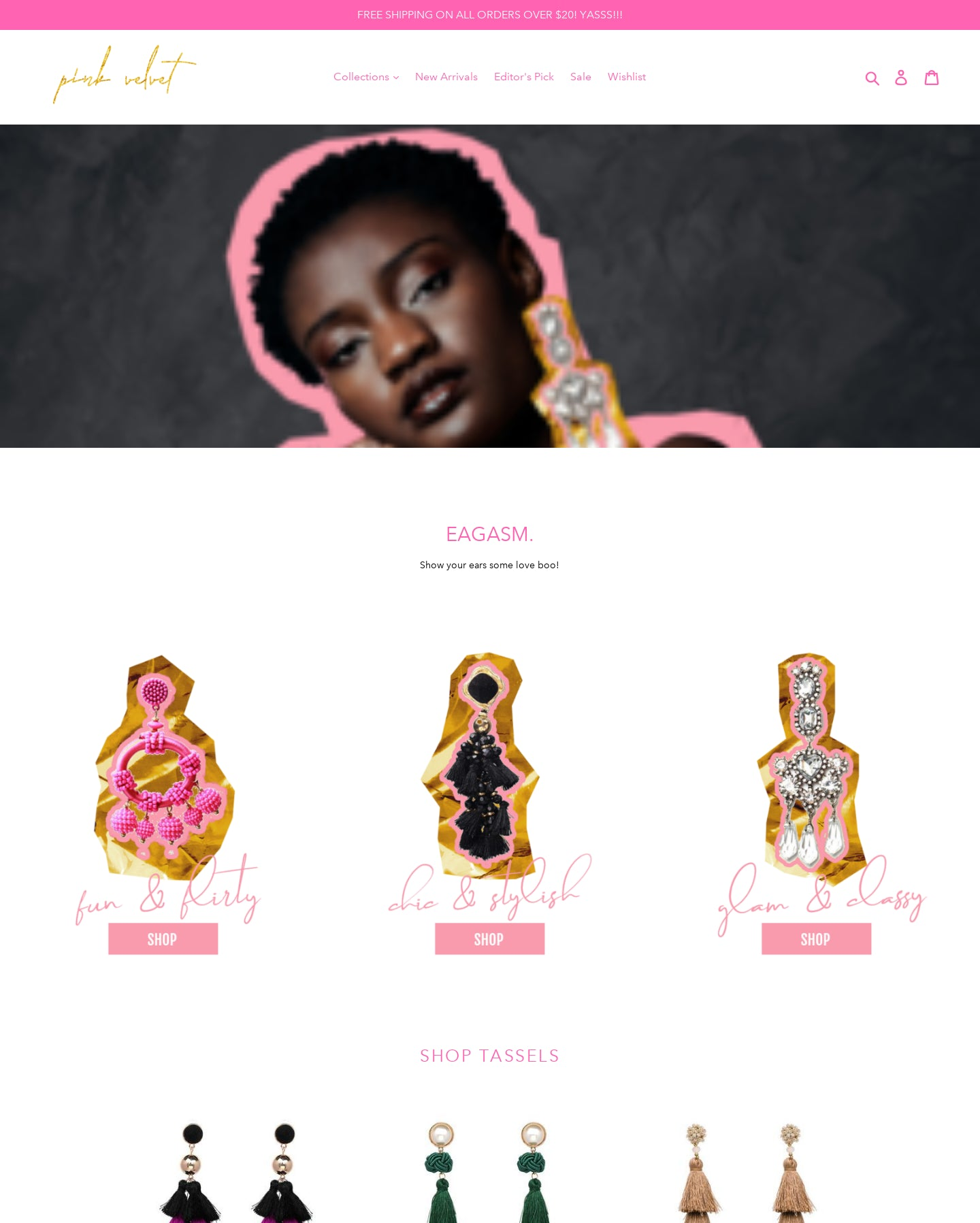 Pink Velvet Jewelry Co Screenshot - 4