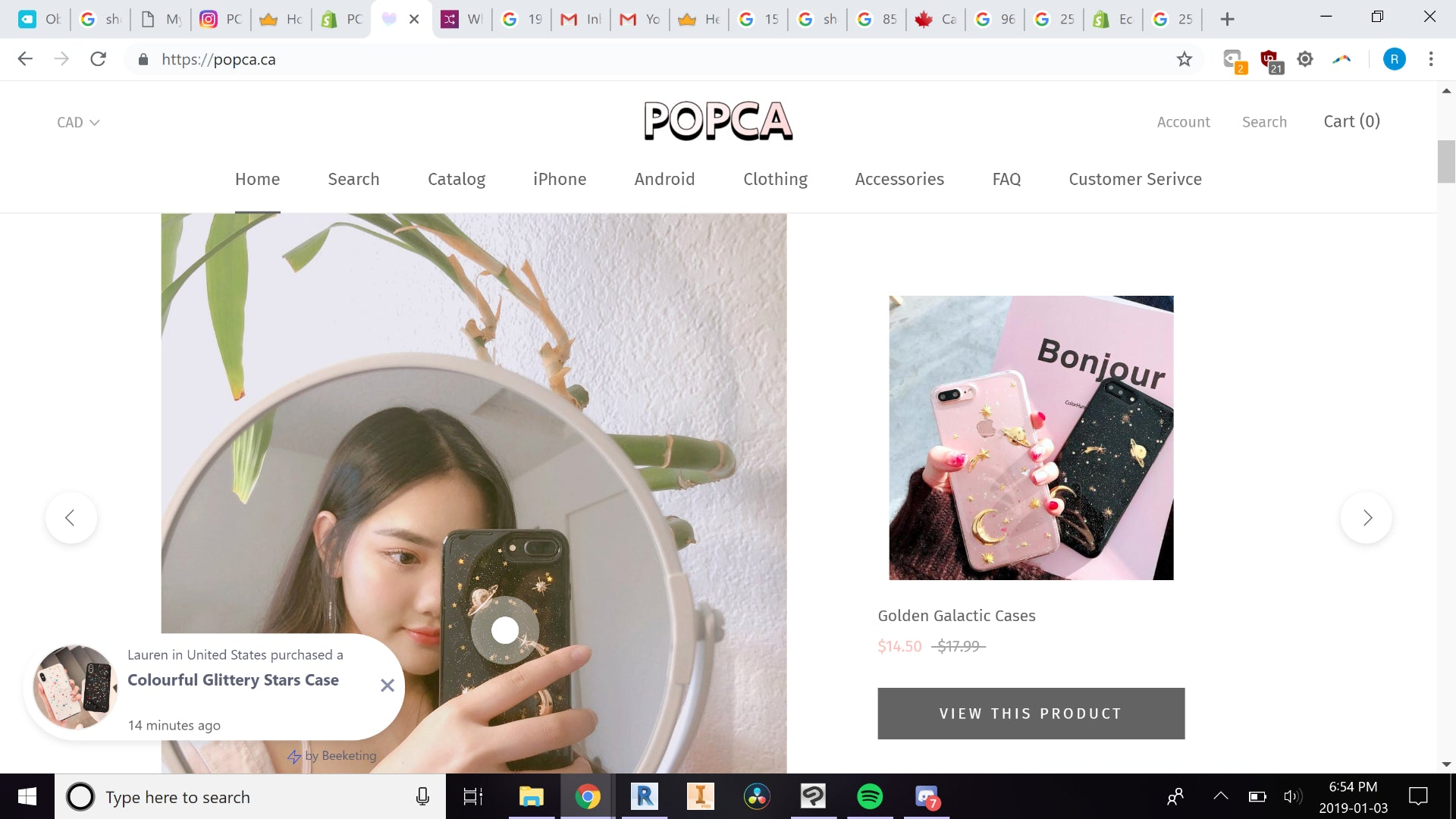 POPCA.ca (Aesthetic & Well Branded Dropshipping) Screenshot - 4