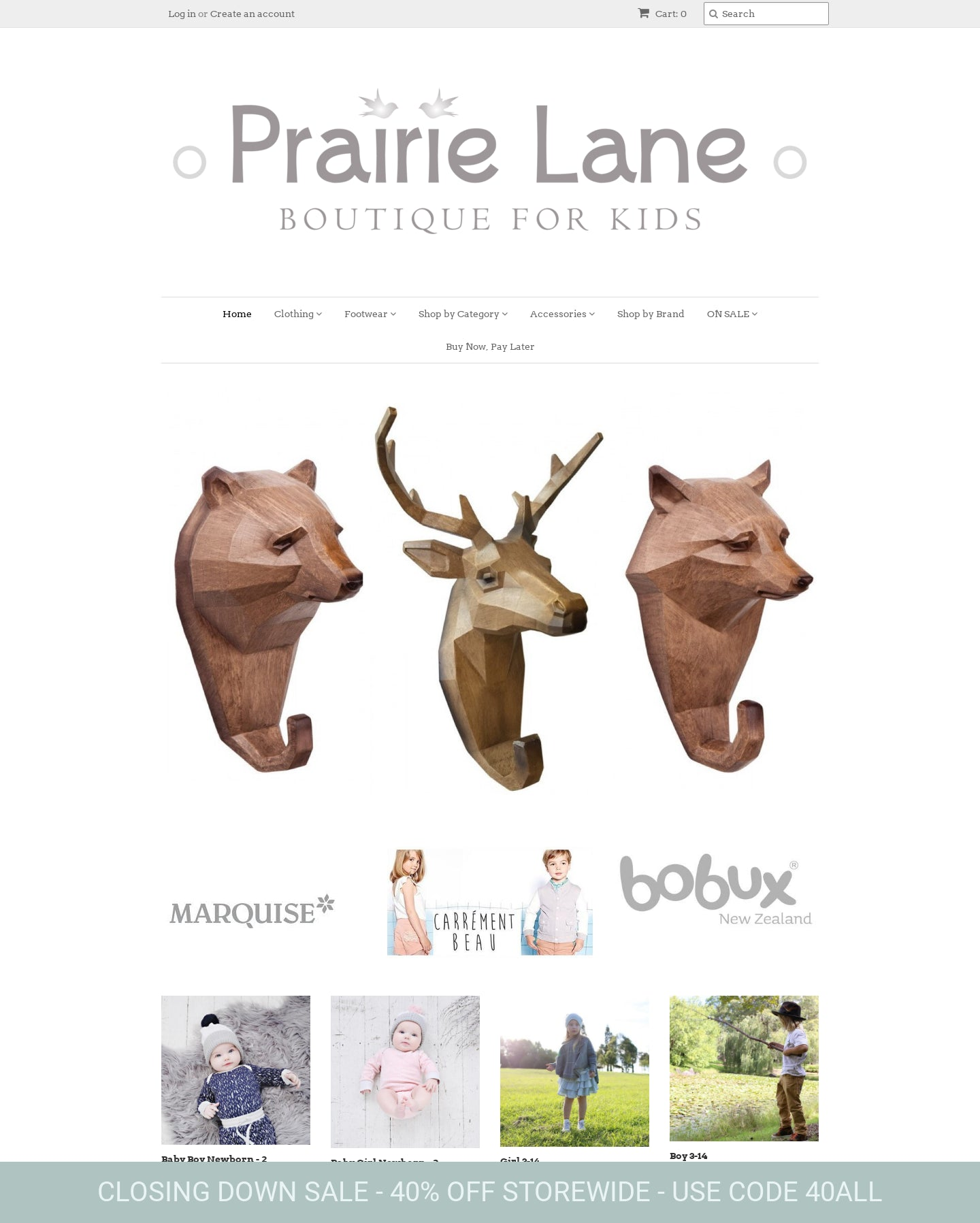 Prairie Lane Boutique for Kids Screenshot - 1
