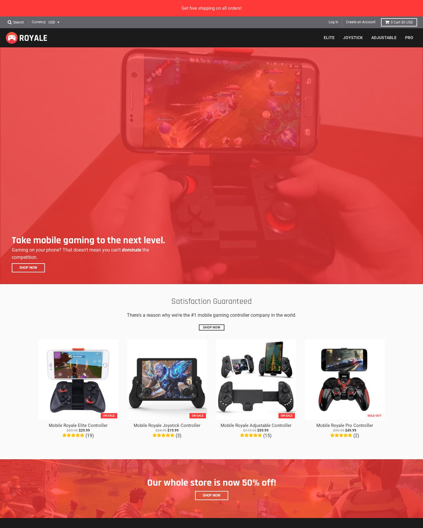 Royale Controllers Screenshot - 1
