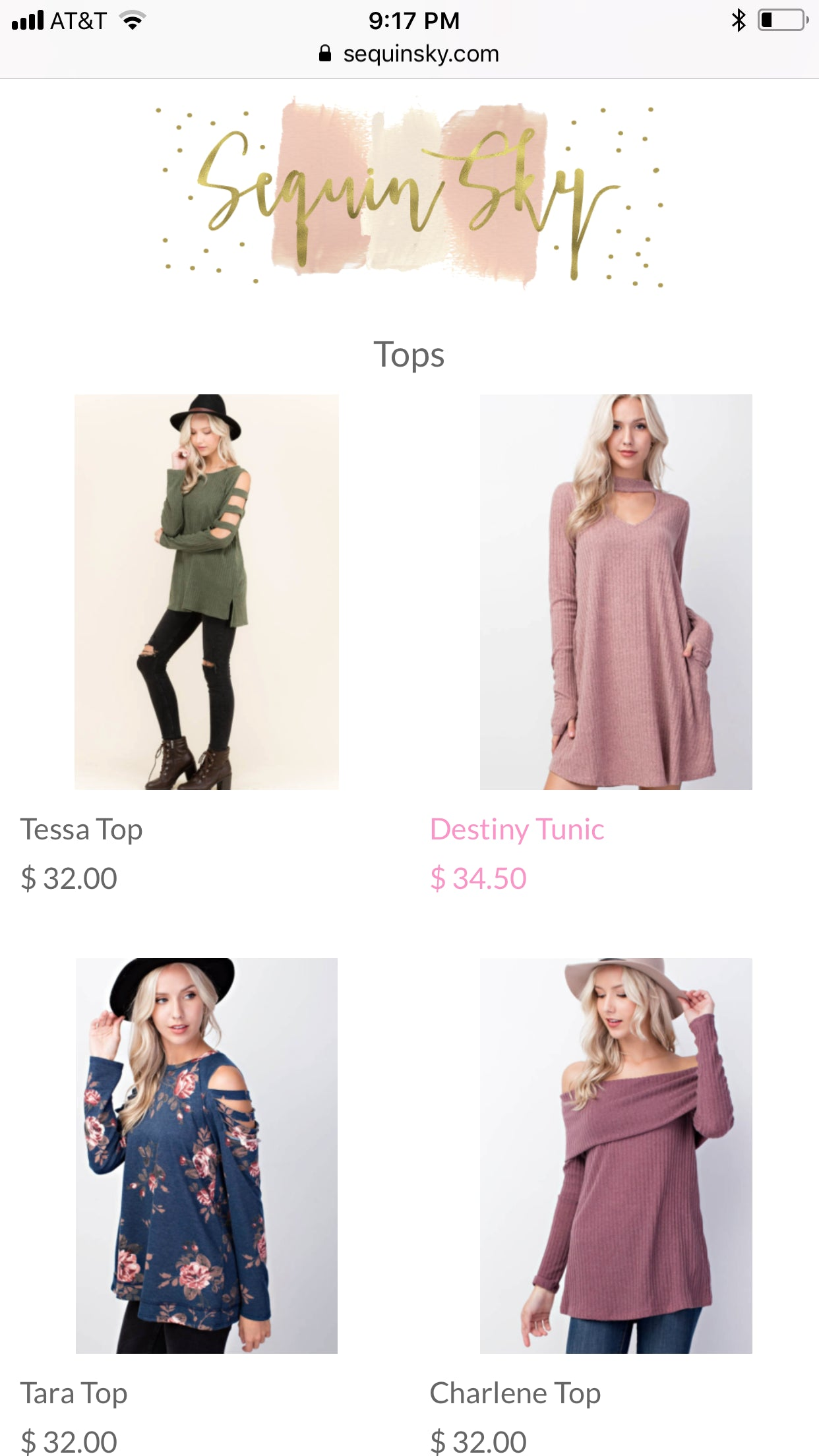 Sequin Sky-Online Fashion Boutique  Screenshot - 3