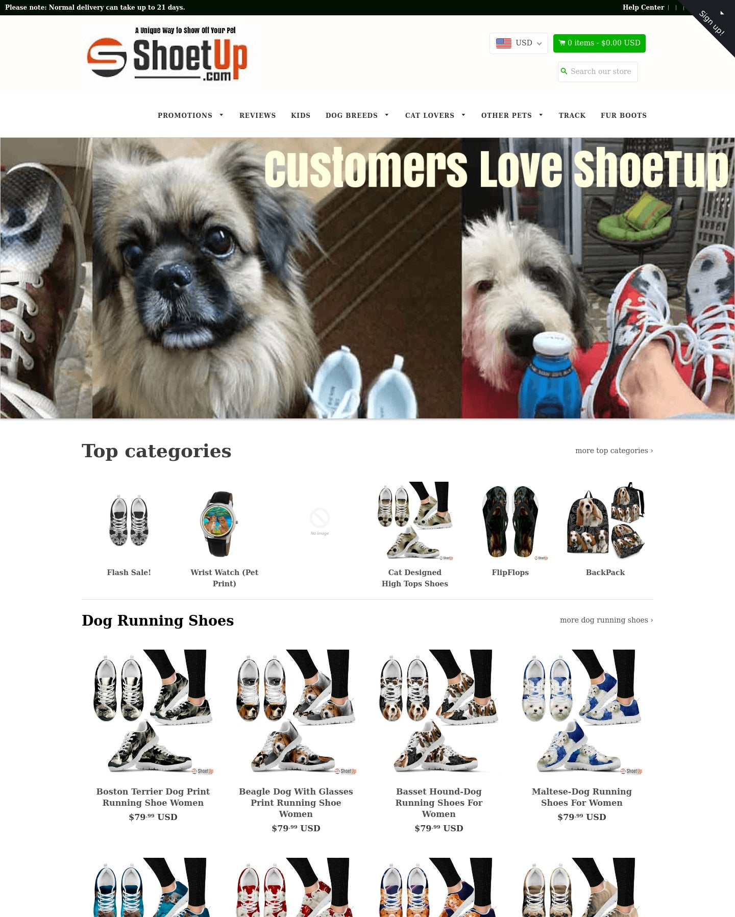 Shoetup Shoes PET Products. Valued at over $50,000. Quit Your Job & Run a Shoe Empire! Screenshot - 1