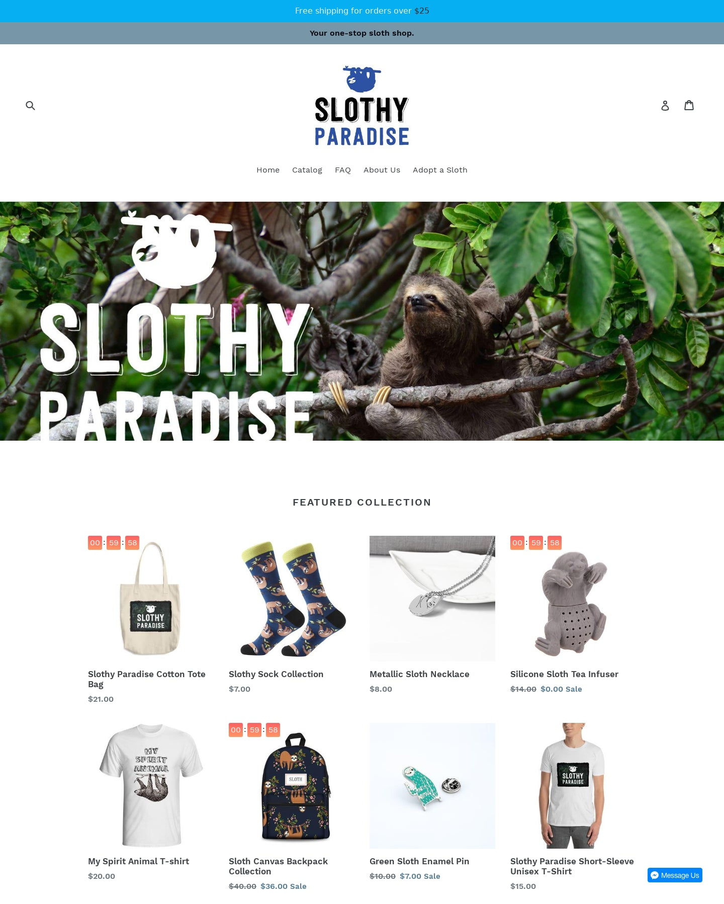 Slothy Paradise  Screenshot - 1