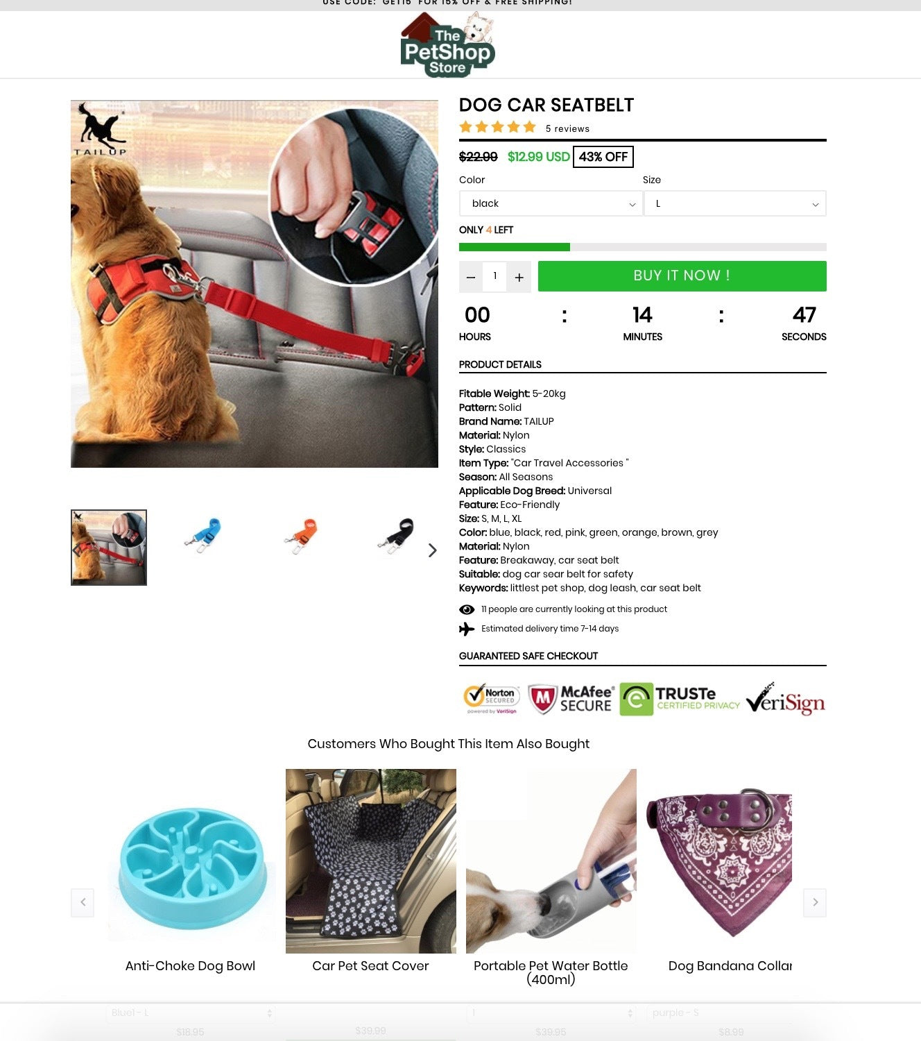 10K IG - Pet Niche + FB ads + Targetting + Winning Products. Screenshot - 1