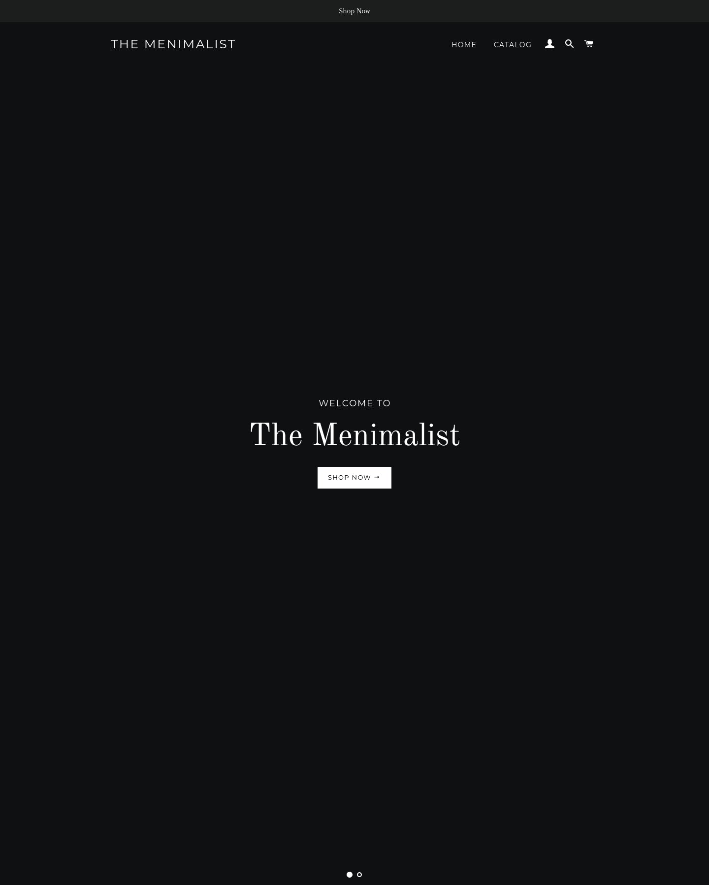 The Menimalist Screenshot - 1