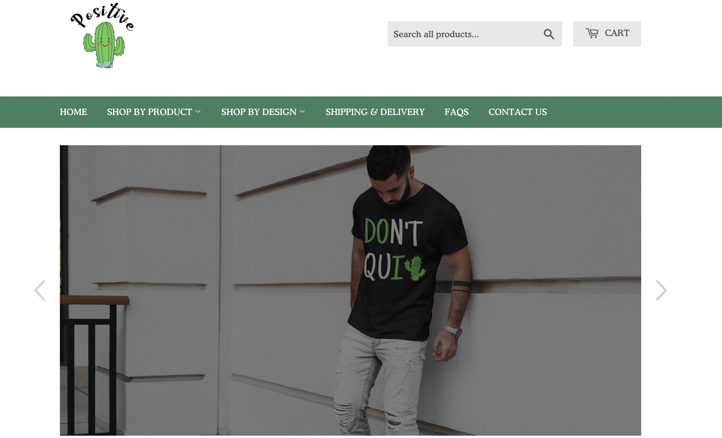 ThePositiveCactus Printing On Demand Shopify Store with Tremendous Growth Opportunity Screenshot - 5