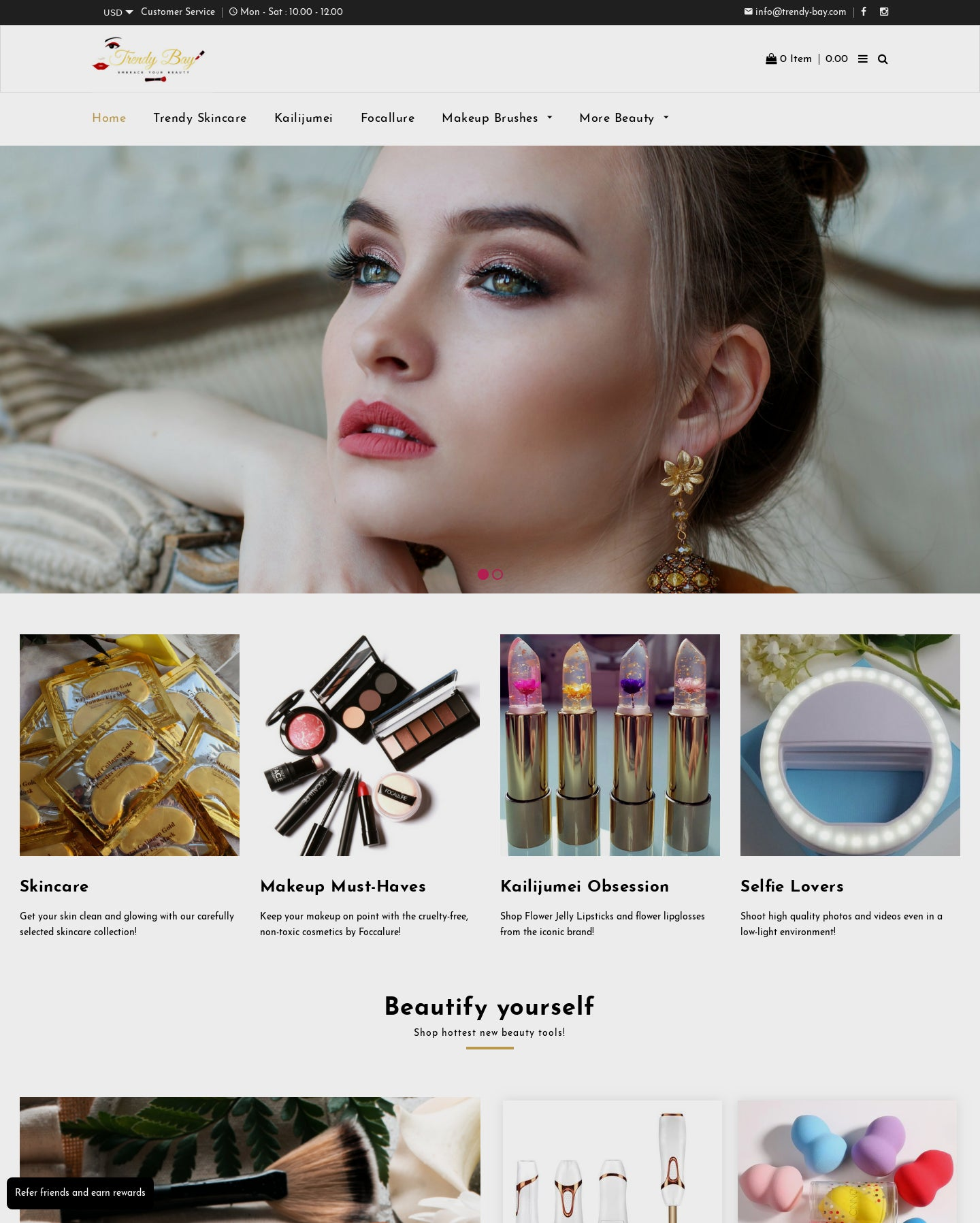 Successful Beauty Dropshipping Store For Sale Screenshot - 3