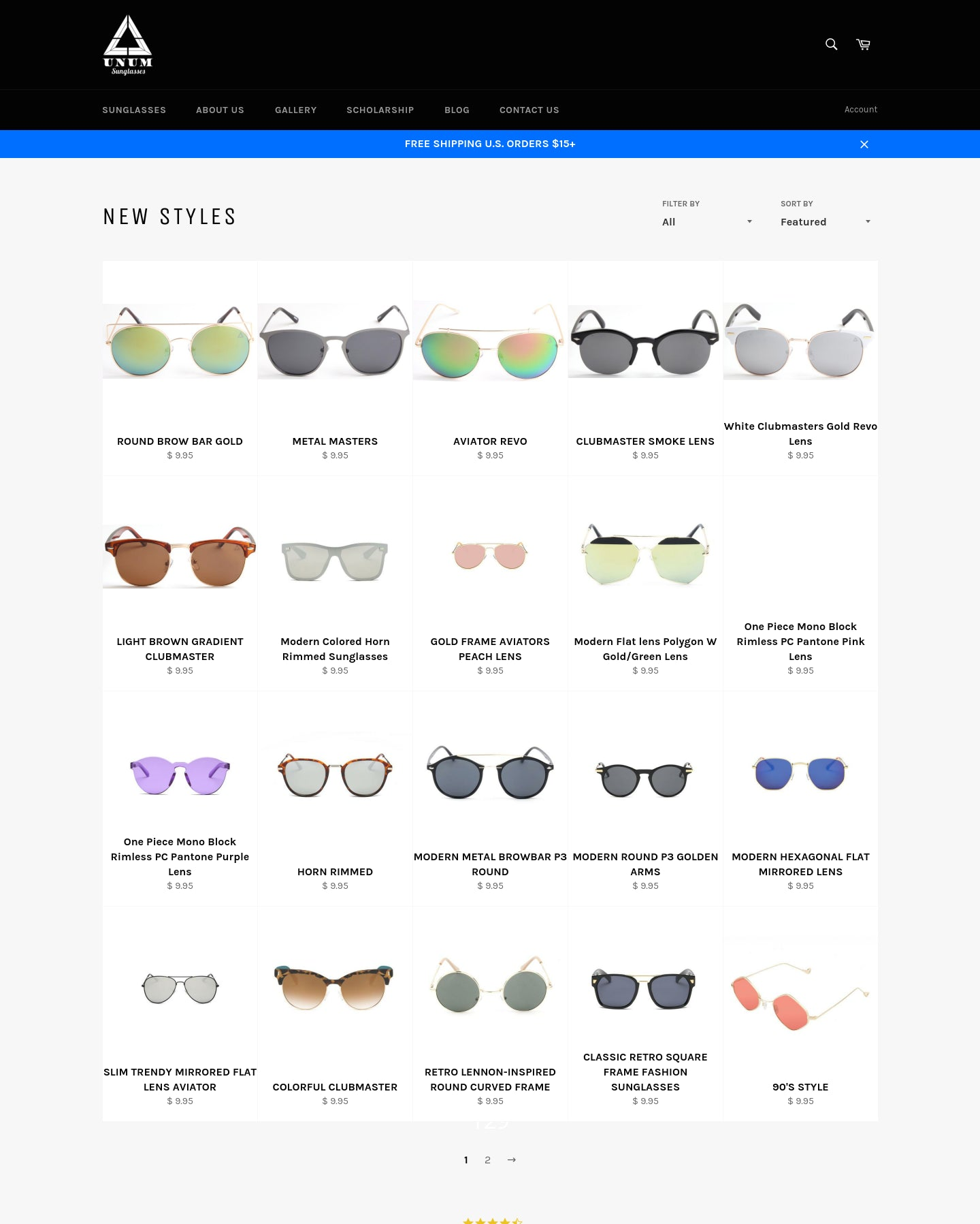 Unum Sunglasses Screenshot - 1