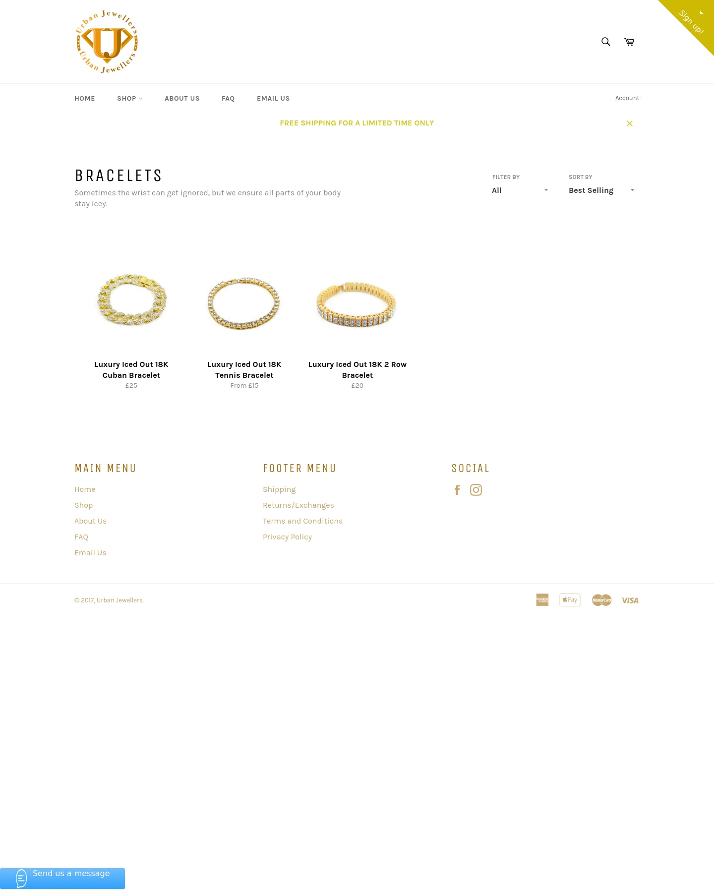 Urban Jewellers - Trendy modern jewellery store with HUGE potential Screenshot - 1