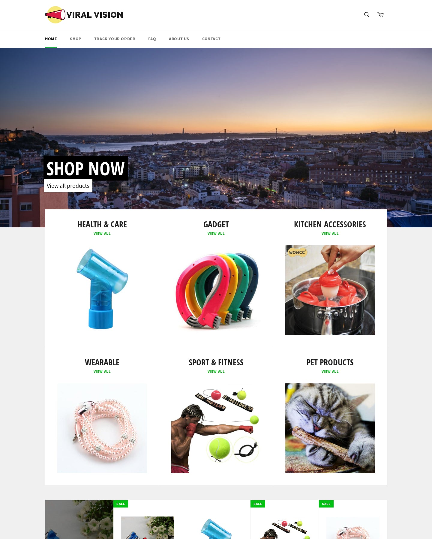 ViralVision Shop Screenshot - 1
