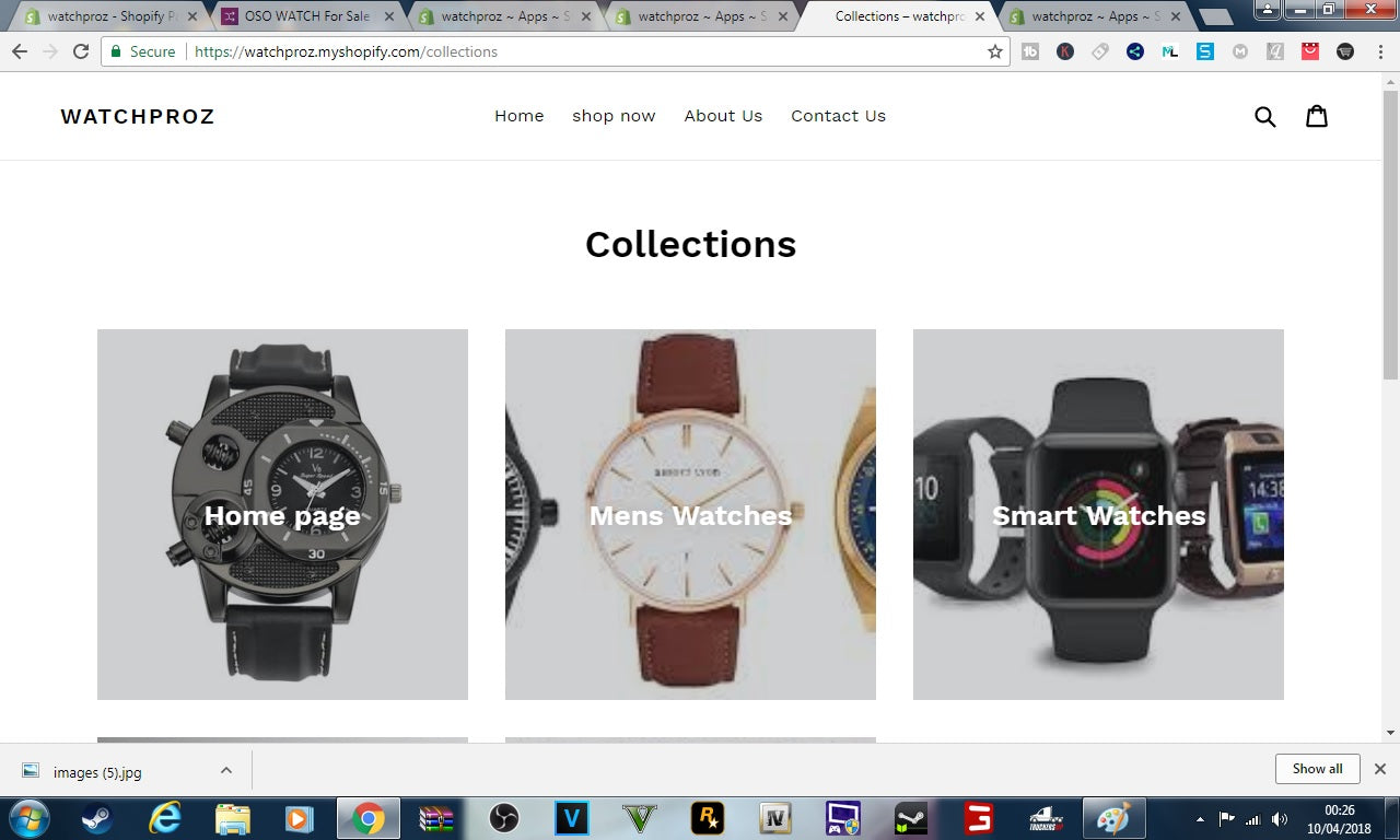 watchproz shopify store ideal for dropshipping watches  Screenshot - 4