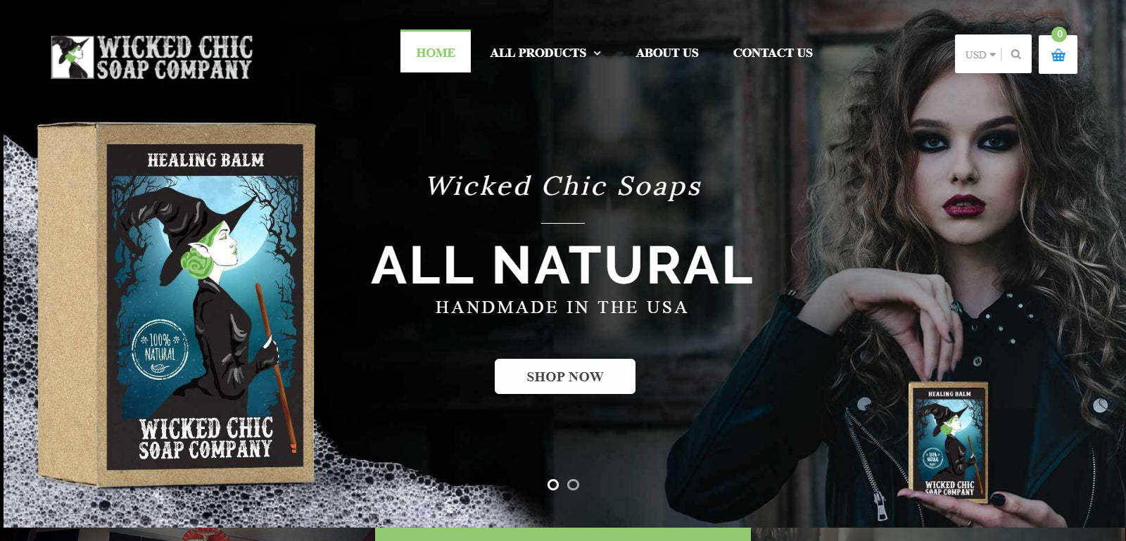 Wicked Chic Soap - Dropship Bath and Body Products!  Screenshot - 1