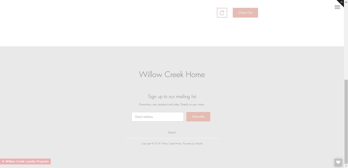 Willow Creek Home | High Quality Dropshipping Home Decor and Furniture e-Commerce Store Screenshot - 3