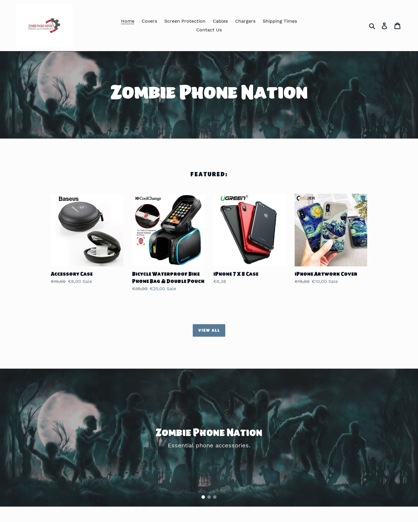Zombie Phone Nation Screenshot - 1